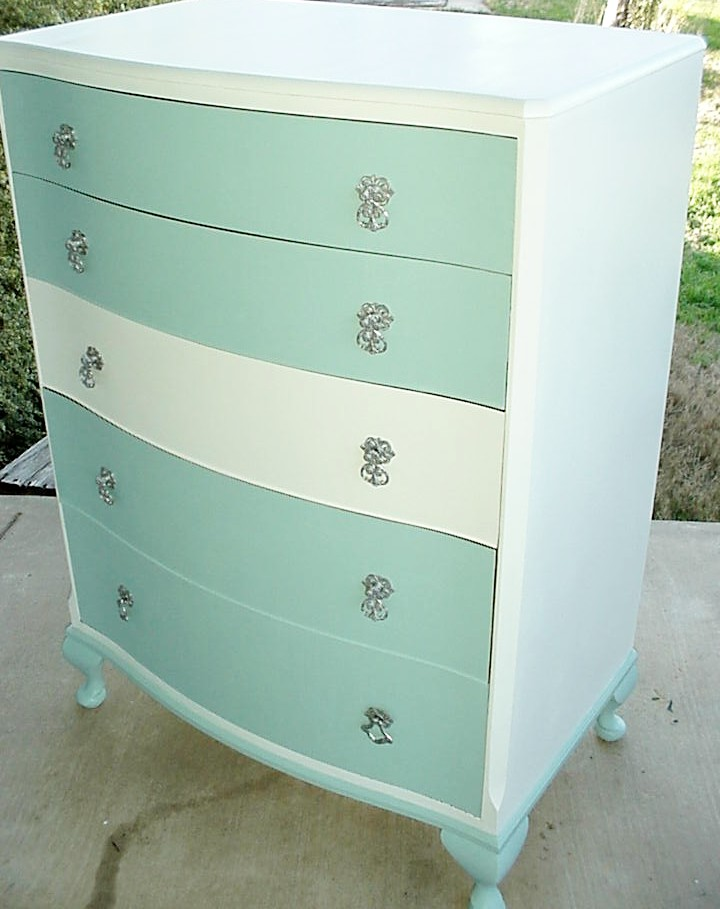 Tiffany Blue White Dresser FurnitureFriday