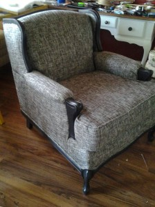 blacktweed chair